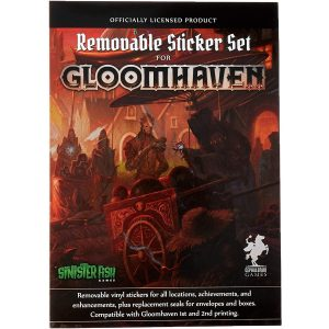 Set de Stickers Removibles Gloomhaven