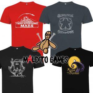 Poleras Maldito Games